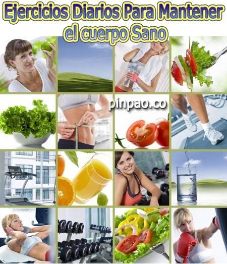 ejercicios para mantener el cuerpo sano