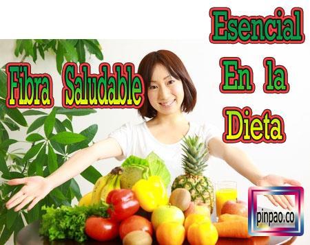 fibra saludable
