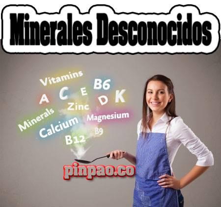 minerales desconocidos